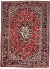 Keshan Rug 249X347 Authentic  Oriental Handknotted Dark Red/Dark Brown (Wool, Persia/Iran)