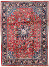 Mahal Rug 246X330 Authentic  Oriental Handknotted Light Grey/Dark Red (Wool, Persia/Iran)
