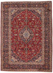 Keshan Rug 263X360 Authentic  Oriental Handknotted Dark Red/Dark Brown Large (Wool, Persia/Iran)