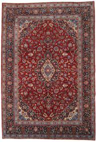 Keshan Rug 253X371 Authentic  Oriental Handknotted Dark Red/Dark Brown Large (Wool, Persia/Iran)