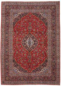 Keshan Rug 243X340 Authentic  Oriental Handknotted Dark Red/Dark Brown (Wool, Persia/Iran)