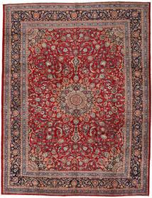 Mashad Rug 302X395 Authentic  Oriental Handknotted Dark Red/Dark Brown Large (Wool, Persia/Iran)