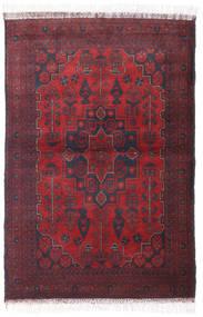 Afghan Khal Mohammadi Rug 99X146 Authentic  Oriental Handknotted Dark Red/Crimson Red (Wool, Afghanistan)