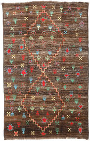 Moroccan Berber - Afghanistan Rug 190X304 Authentic  Modern Handknotted Brown/Dark Brown (Wool, Afghanistan)