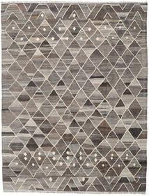 Kilim Ariana Rug 185X244 Authentic  Modern Handwoven Light Grey/Dark Grey (Wool, Afghanistan)