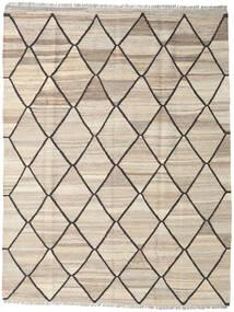 Kilim Ariana Rug 153X198 Authentic  Modern Handwoven Light Grey/Beige (Wool, Afghanistan)
