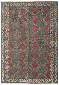 Kilim Afghan Old Style Rug 170X244 Authentic  Oriental Handwoven Dark Grey/Light Grey (Wool, Afghanistan)