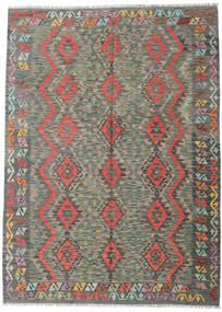 Kilim Afghan Old Style Rug 178X249 Authentic  Oriental Handwoven Light Grey/Dark Grey (Wool, Afghanistan)