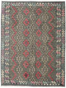 Kilim Afghan Old Style Rug 184X237 Authentic  Oriental Handwoven Dark Grey/Light Grey (Wool, Afghanistan)