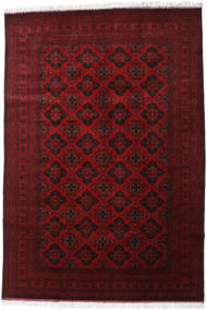 Afghan Khal Mohammadi Rug 200X293 Authentic Oriental Handknotted Dark Red/Crimson Red (Wool, Afghanistan)