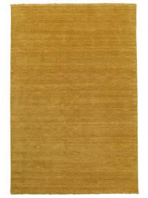 Handloom Fringes - Yellow Rug 160X230 Modern Orange/Light Brown (Wool, India)