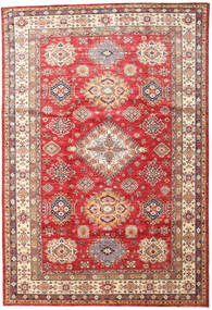 Kazak Rug 201X296 Authentic  Oriental Handknotted (Wool, Pakistan)