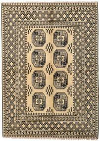 Afghan Rug 170X230 Authentic Oriental Handknotted Dark Beige/Light Brown (Wool, Afghanistan)