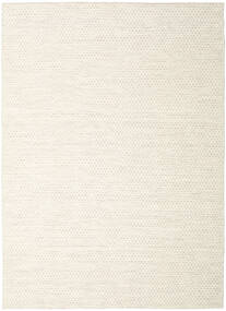 Kilim Honey Comb - Beige Rug 210X290 Authentic  Modern Handwoven Beige/White/Creme (Wool, India)