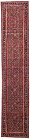 Hamadan Patina Rug 78X380 Authentic Oriental Handknotted Hallway Runner Crimson Red/Dark Red (Wool, Persia/Iran)