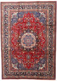 Mashad Rug 240X337 Authentic  Oriental Handknotted Dark Red/Dark Grey (Wool, Persia/Iran)