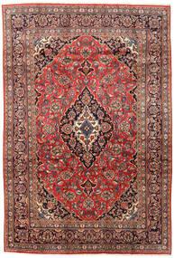 Mashad Rug 200X297 Authentic  Oriental Handknotted Dark Red/Dark Brown (Wool, Persia/Iran)