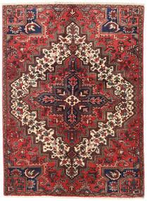 Heriz Rug 137X187 Authentic  Oriental Handknotted Dark Red/Dark Brown (Wool, Persia/Iran)