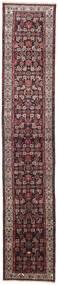 Hosseinabad Rug 75X405 Authentic  Oriental Handknotted Hallway Runner  (Wool, Persia/Iran)