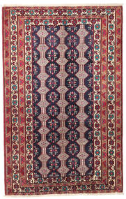 Baluch Patina Rug 132X206 Authentic Oriental Handknotted Dark Purple/Beige (Wool, Persia/Iran)