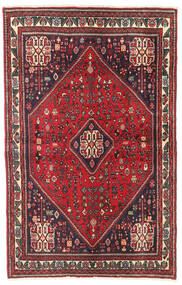 Abadeh Rug 104X163 Authentic Oriental Handknotted Crimson Red/Dark Red (Wool, Persia/Iran)