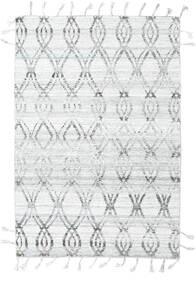 Pet Yarn Kilim Rug 164X240 Authentic  Modern Handwoven Light Grey/White/Creme ( India)