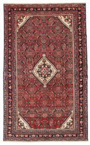 Hamadan Patina Rug 133X210 Authentic  Oriental Handknotted Dark Red/Dark Brown (Wool, Persia/Iran)