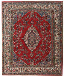 Hamadan Patina Rug 240X295 Authentic  Oriental Handknotted Dark Red/Dark Brown (Wool, Persia/Iran)