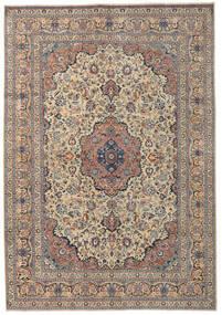 Kashmar Patina Rug 250X355 Authentic  Oriental Handknotted Light Brown/Dark Grey Large (Wool, Persia/Iran)