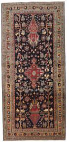 Ardebil Patina Rug 133X284 Authentic  Oriental Handknotted Hallway Runner  Dark Brown/Dark Red (Wool, Persia/Iran)