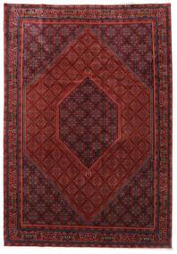 Bidjar Zanjan Rug 253X365 Authentic  Oriental Handknotted Dark Red/Black Large (Wool, Persia/Iran)