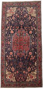 Jozan Rug 165X343 Authentic  Oriental Handknotted Dark Grey/Dark Brown (Wool, Persia/Iran)