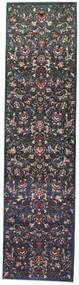 Mashad Patina Rug 99X386 Authentic  Oriental Handknotted Hallway Runner  (Wool, Persia/Iran)