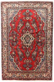 Hamadan Patina Rug 130X200 Authentic  Oriental Handknotted Dark Red/Dark Brown (Wool, Persia/Iran)