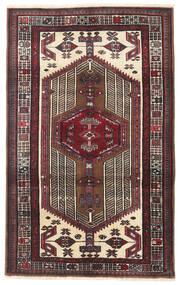 Sarab Rug 95X154 Authentic  Oriental Handknotted Dark Brown/Beige (Wool, Persia/Iran)
