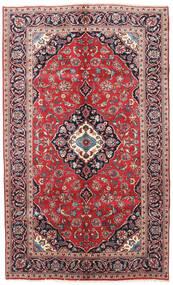 Keshan Rug 145X240 Authentic  Oriental Handknotted Dark Purple/Dark Red (Wool, Persia/Iran)