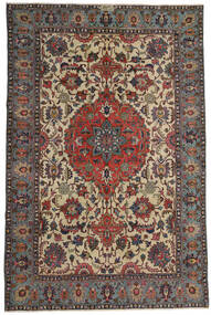 Ardebil Patina Rug 195X300 Authentic  Oriental Handknotted Dark Brown/Light Brown (Wool, Persia/Iran)