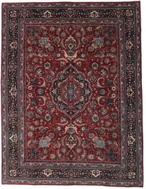 Mashad Patina Rug 304X398 Authentic  Oriental Handknotted Dark Red/Dark Grey Large (Wool, Persia/Iran)