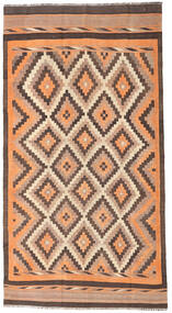 Kilim Fars Rug 186X350 Authentic  Oriental Handwoven Hallway Runner  Light Brown/Dark Red (Wool, Persia/Iran)