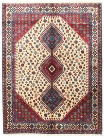 Yalameh Rug 153X200 Authentic  Oriental Handknotted Dark Purple/Dark Red (Wool, Persia/Iran)