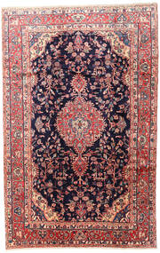 Mehraban Rug 200X315 Authentic  Oriental Handknotted Black/Beige (Wool, Persia/Iran)