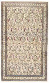 Kerman Patina Rug 85X147 Authentic Oriental Handknotted Beige/Light Grey (Wool, Persia/Iran)