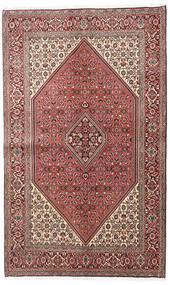 Bidjar Rug 138X225 Authentic Oriental Handknotted Dark Brown/Light Pink (Wool, Persia/Iran)