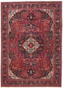 Mashad Patina Rug 257X362 Authentic  Oriental Handknotted Dark Red/Crimson Red Large (Wool, Persia/Iran)