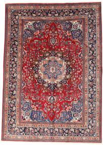 Mashad Rug 242X340 Authentic  Oriental Handknotted Dark Red/Beige (Wool, Persia/Iran)