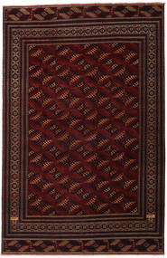 Turkaman Patina Rug 262X408 Authentic  Oriental Handknotted Dark Red Large (Wool, Persia/Iran)