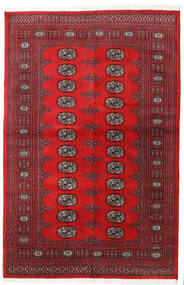 Pakistan Bokhara 2Ply Rug 136X208 Authentic Oriental Handknotted Crimson Red/Dark Red (Wool, Pakistan)