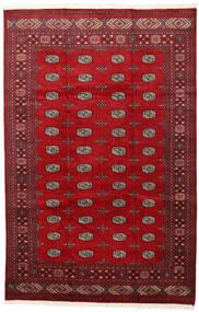 Pakistan Bokhara 2Ply Rug 202X312 Authentic  Oriental Handknotted Crimson Red/Dark Red (Wool, Pakistan)