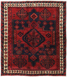 Lori Rug 174X200 Authentic Oriental Handknotted Dark Red/Black (Wool, Persia/Iran)