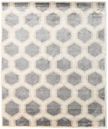 Lounge Rug 250X300 Authentic  Modern Handknotted Light Grey/Beige Large ( India)